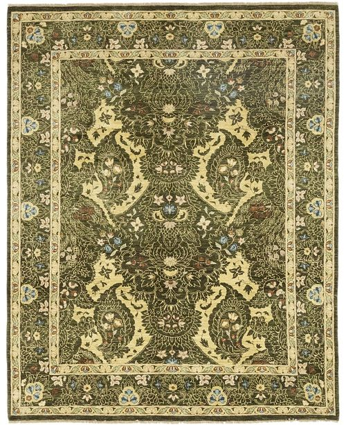 """Timeless Rug Designs CLOSEOUT! One of a Kind OOAK143 Moss 8' x 10'1"""" Area Rug"""