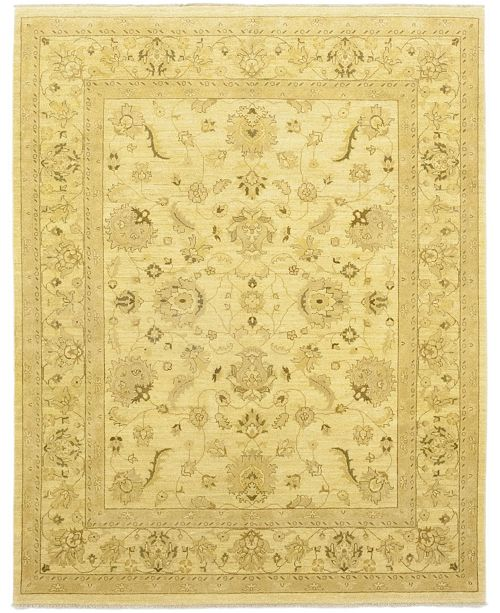 """Timeless Rug Designs CLOSEOUT! One of a Kind OOAK153 Flax 8'1"""" x 9'10"""" Area Rug"""