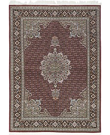 CLOSEOUT! One of a Kind OOAK594 Cherry 5' x 7' Area Rug