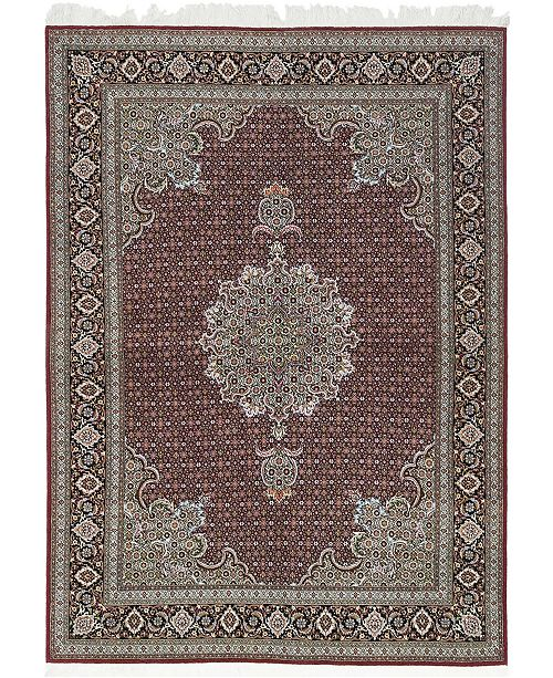 Timeless Rug Designs CLOSEOUT! One of a Kind OOAK594 Cherry 5' x 7' Area Rug