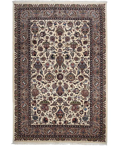 """Timeless Rug Designs CLOSEOUT! One of a Kind OOAK2692 Ivory 6'8"""" x 9'10"""" Area Rug"""