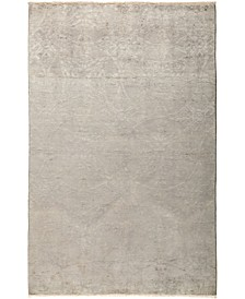 """CLOSEOUT! One of a Kind OOAK24 Silver 5'3"""" x 8'1"""" Area Rug"""