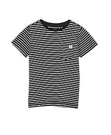 Toddler, Little and Big Boys Core Short Sleeve Tee