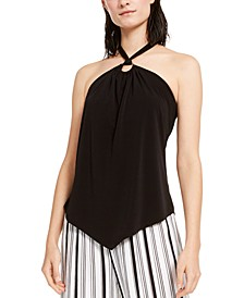 INC O-Ring Halter Top, Created for Macy's