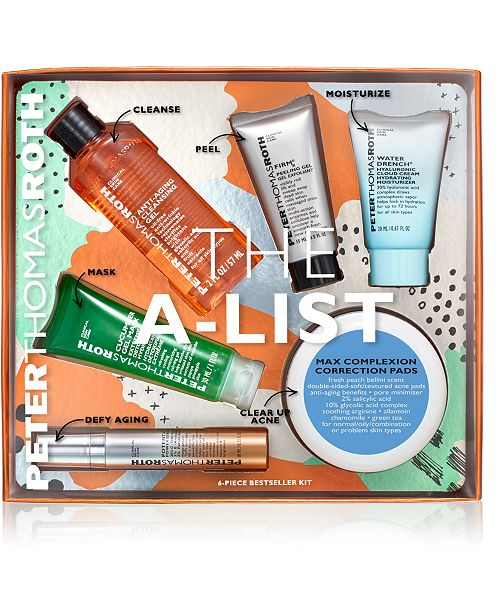 Peter Thomas Roth 6-Pc. The A-List Set