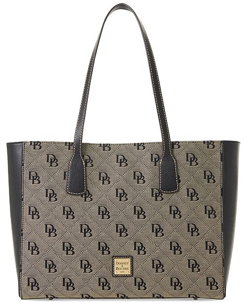 Dooney & Bourke Signature Ashton Tote