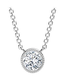Tribute™ Collection Diamond (1/2 ct. t.w.) Necklace in 18k Yellow, White and Rose Gold