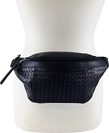 Basketweave Fanny Pack