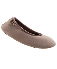 Isotoner Signature Women's Victoria Ballerina Slippers, Online Only