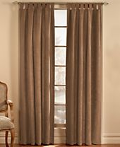 CLOSEOUT! CHF Loftstyle Faux Suede Window Treatment Collection