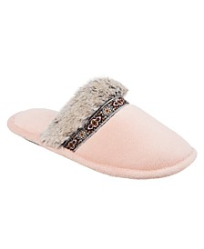 Isotoner Women's Microterry Zulu Clog Slipper, Online Only