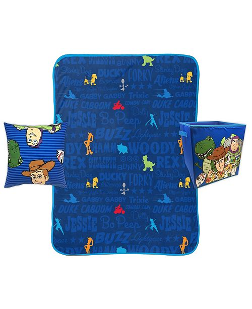 Jay Franco Toy Story 4pc Storage Set