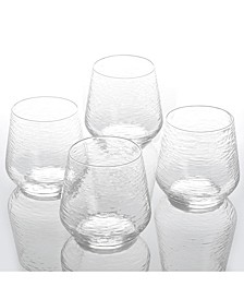Set of 4- 15 oz. Double Old Fashioned Glasses, Created for Macy's