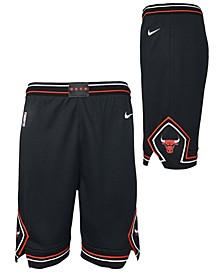 Big Boys Chicago Bulls Statement Swingman Shorts