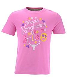 Toddlers Texas Longhorns Emoji T-Shirt