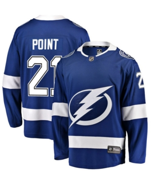 Men's Brayden Point Tampa Bay Lightning Breakaway Player Jersey