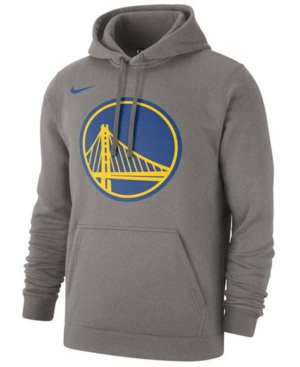 Nike Men's Golden State Warriors Logo Club Pullover Hoodie