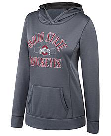 Top of the World Women's Ohio State Buckeyes Layover Hooded Sweatshirt