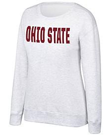 Women's Ohio State Buckeyes Essential Fleece Crew Sweatshirt