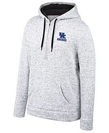 Men's Kentucky Wildcats Timberline Half-Zip Hooded Sweatshirt