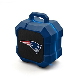 Prime Brands New England Patriots Shockbox LED Speaker