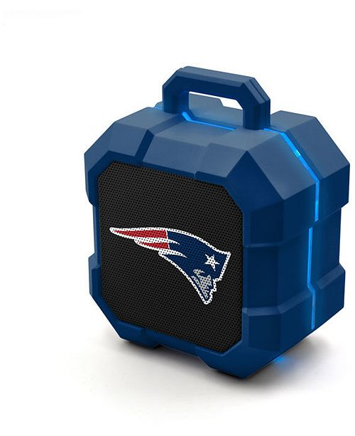 Lids Prime Brands New England Patriots Shockbox LED Speaker