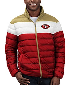 Men's San Francisco 49ers Cold Front Quilted Polyfill Jacket