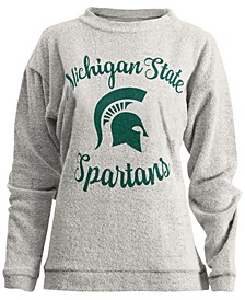 Women's Michigan State Spartans Comfy Terry Sweatshirt
