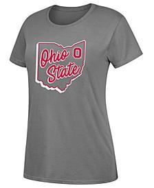 Women's Ohio State Buckeyes State Dual Blend T-Shirt