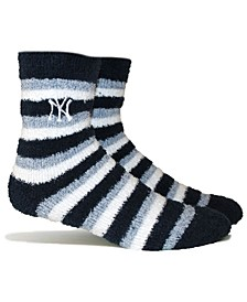 New York Yankees Fuzzy Steps Socks