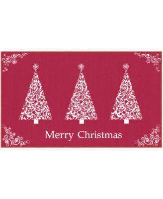 "Ornamental Trees Accent Rug, 24"" x 40"""