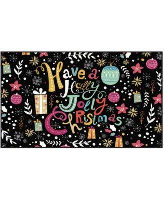 Jolly Christmas Accent Rug, 30