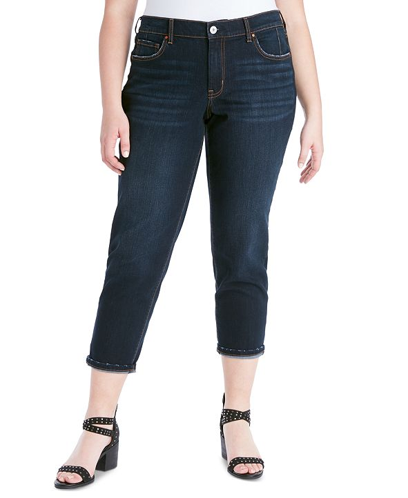 Jessica Simpson Trendy Plus Size Mika Best Friend Slouchy Skinny Jeans