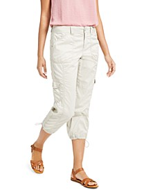 Curvy-Fit Cargo Capri Pants, Created for Macy's