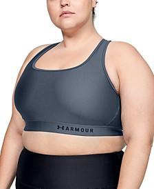 Plus Size Armour® Mid Crossback Sports Bra