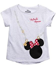 Little Girls Minnie Mouse Purse T-Shirt