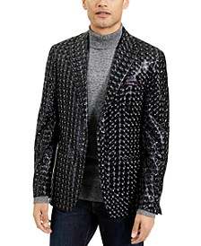 Men's Shiny 3D Sport Coat