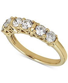 Diamond Anniversary Band (1 ct. t.w.) in 14k Gold
