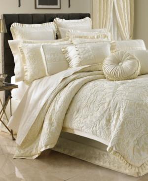 J Queen New York Marquis Queen Duvet Cover Mini Set Bedding
