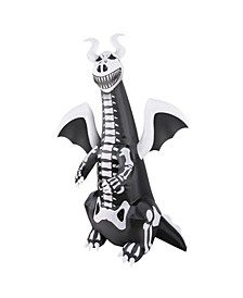 7' Inflatable Skeleton Dragon