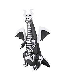 7' Inflatable Skeleton Dragon