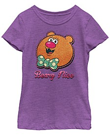 Cartoon Network Big Girl's Uncle Grandpa Beary Nice Bear Short Sleeve T-Shirt