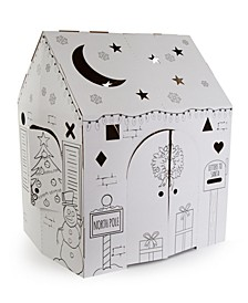 Holiday Cottage Cardboard Playhouse