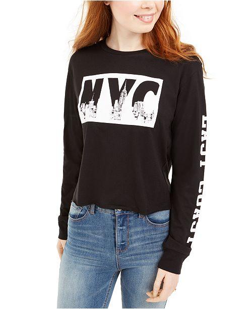 Freeze 24-7 Juniors' NYC Graphic T-Shirt