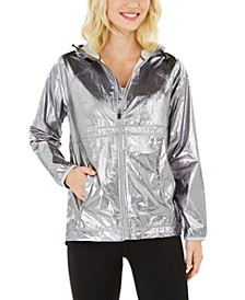 Shine Hooded Windbreaker, Created For Macy's