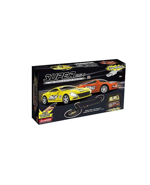 JOYSWAY Super 251 1:43 Scale USB Power Slot Car Racing Set