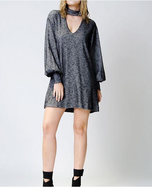 Wanderlux Long Sleeve Hanover Cutout Dress