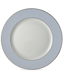 Bernardaud Dinnerware, Dune Blue Dinner Plate