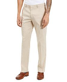 Tommy Hilfiger Men's Modern-Ft Stretch Mini-Check Performance Pants