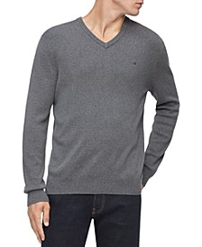 Men's Regular-Fit V-Neck Sweater